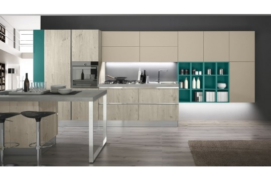 επιπλα κουζινας amalfi 22 gola pino artico