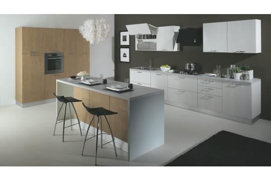 επιπλα κουζινας cortina 22 larice olmo