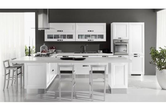 επιπλα κουζινας imperia 24 bianco frassino