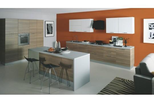 επιπλα κουζινας monza 22 grigio bianco