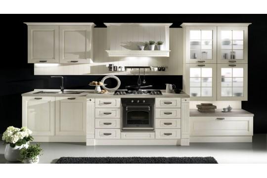 επιπλα κουζινας praga 24 bianco artico