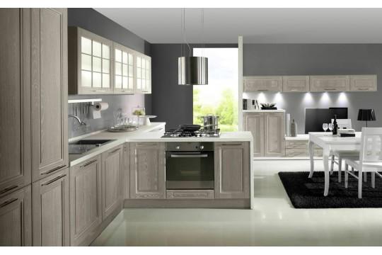 επιπλα κουζινας praga 24 grigio artico