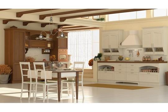 επιπλα κουζινας tolosa 21 noce ambra