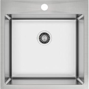 Excel Atlas AS 1252 (50x50,5 cm) Νεροχύτης Ανοξείδωτος