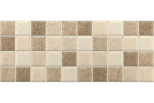 πλακακι décor mosaico noce 20x50