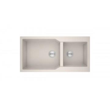 Sanitec Ultra Granite 803 98 2B (98x50 cm) Νεροχύτης Γρανίτη