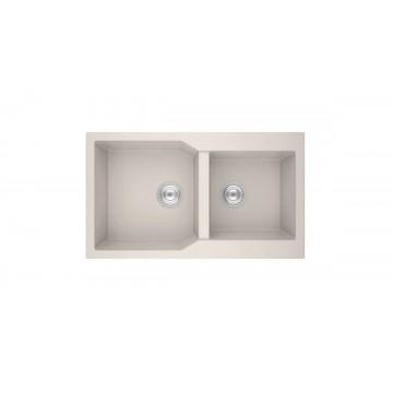 Sanitec Ultra Granite 804 86 2B (86x50 cm) Νεροχύτης Γρανίτη