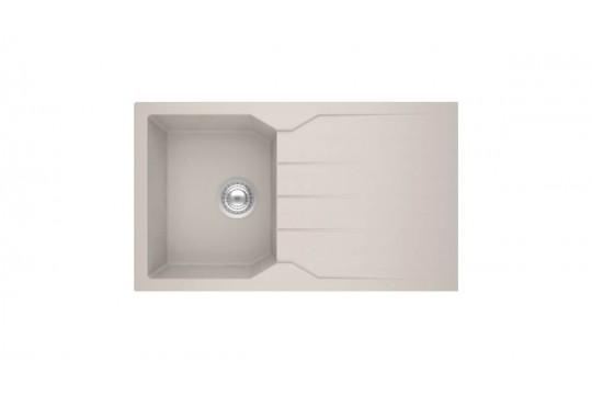 sanitec ultra granite 805 86 1b 1d νεροχυτης γρανιτη