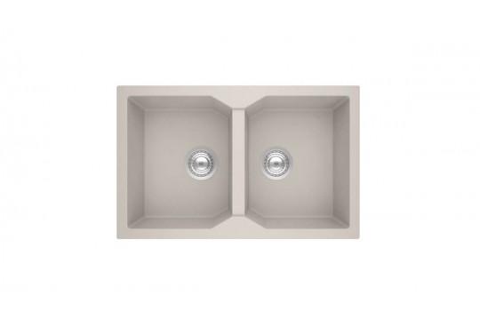sanitec ultra granite 806 79 2b νεροχυτης γρανιτη