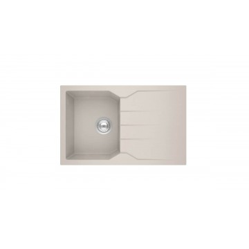 Sanitec Ultra Granite 807 79 1B 1D (79x50 cm) Νεροχύτης Γρανίτη