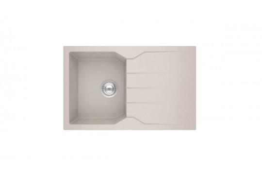 sanitec ultra granite 807 79 1b 1d νεροχυτης γρανιτη