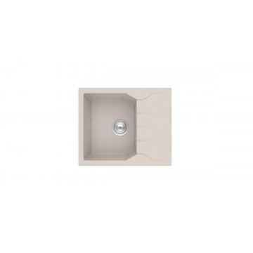 Sanitec Ultra Granite 812 60 1B 1D (60x50 cm) Νεροχύτης Γρανίτη