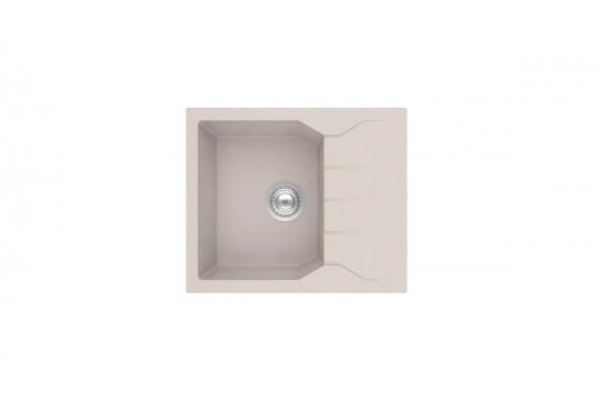 sanitec ultra granite 812 60 1b 1d νεροχυτης γρανιτη