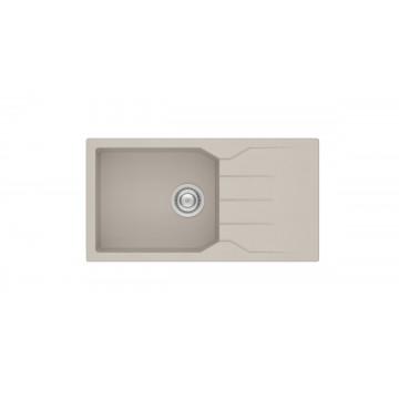 Sanitec Ultra Granite 814 86 1B 1D (86x50 cm) Νεροχύτης Γρανίτη