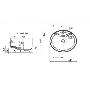 SCARABEO WIND /R 8030R (54,5x45 εκ.) ΝΙΠΤΗΡΑΣ ΕΠΙΤΡΑΠΕΖΙΟΣ