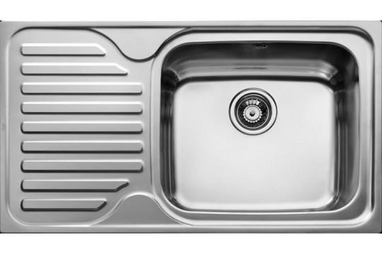 ανοξειδωτος νεροχυτης teka super bowl 1c 1e max 86x50 microsagre